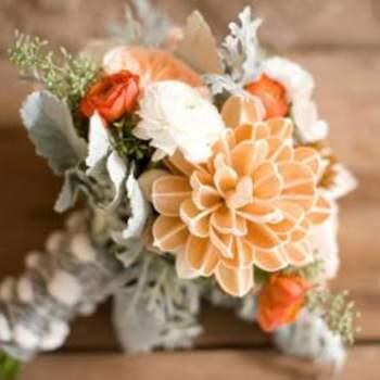 Herbstliche Farben für den Brautstrauß- Foto: Ely Fair