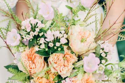 Bruidsboeketten van wilde bloemen: vol persoonlijkheid!