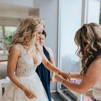 Second Hand Brautkleid, erhältlich im Onlineshop. ID: 290059