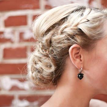 Cabelo de noiva preso   Credits: Amanda Thomsen Photography
