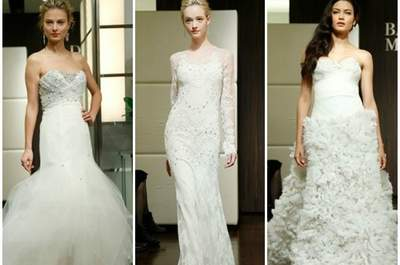Badgley Mischka Fall 2013 Bridal Collection. Foto: www.badgleymischka.com