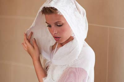 Délicatesse et chic : découvrez les robes de mariée de la créatrice Fanny Liautard
