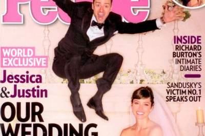 Vestidos e casamentos de noivas famosas em 2012
