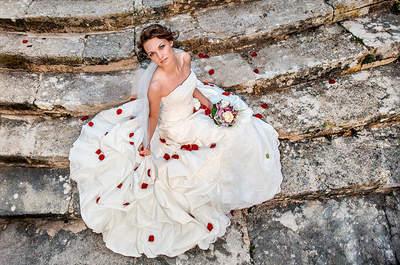 Le regard d'une mariée qui en dit long : notre photo de la semaine
