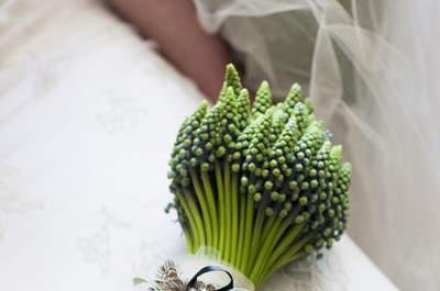 Natürliche & romantische Brautsträusse für die Hochzeit 2016 – Ein Hauch von Boho mit dabei!