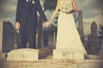 'Til' Death Do Us Part' Cemetery Wedding Trend: Creepy or Cool?