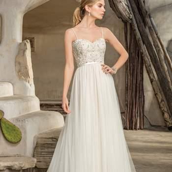 Style 2296 Piper. Credits: Casablanca Bridal.