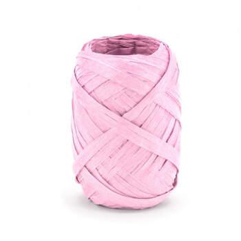Nastro rafia rosa 10 metri- Compra en The Wedding Shop