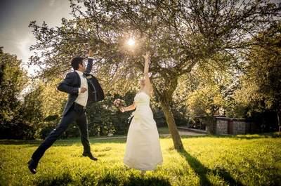 Liebe auf den ersten Blick: Diese herbstlichen Hochzeitstrends verursachen Schmetterlinge im Bauch!