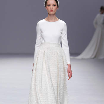 Créditos: Cristina Tamborero | Barcelona Bridal Fashion Week