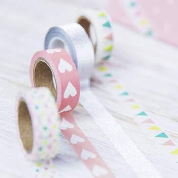 Ruban Décoratif Mix Color 4 Pièces - Achetez sur The Wedding Shop !