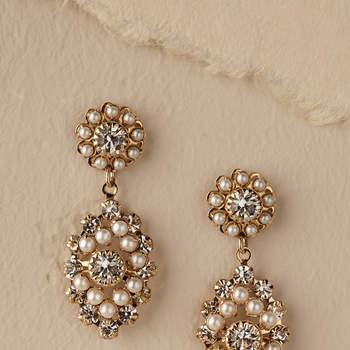 Courtship Earrings. Credits: Bhldn