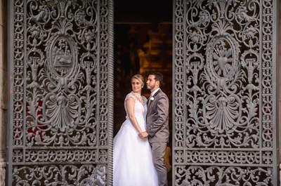 Casamento original de Susan & Luiz Cláudio: cerimônia clássica e festa descontraída em bar da capital carioca