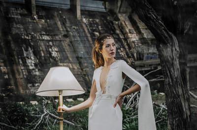 Gerade geschnittene Brautkleider: Pure Designs verschmelzen mit endloser Eleganz