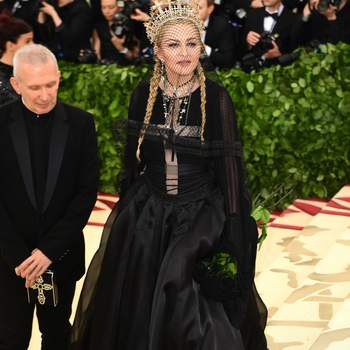 Madonna em Jean Paul Gaultier | Foto: Cordon Press