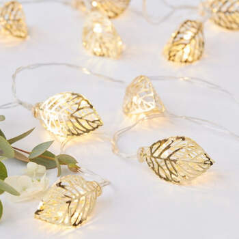 Luces de hojas de oro- Compra en The Wedding Shop