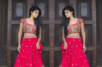 How to select your dreamy lehenga colour combinations