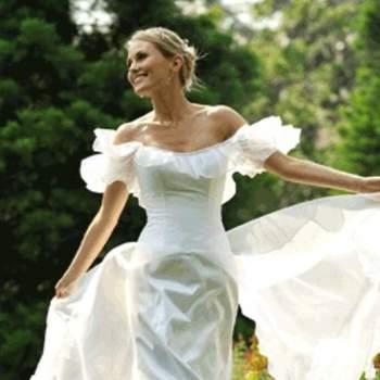 Robe de mariée Giselle, vue de face - Crédit photo: Catherine Varnier