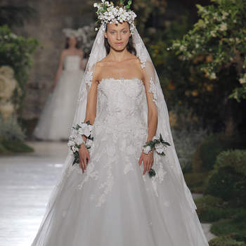 Reem Acra. Credits_ Barcelona Bridal Fashion Week