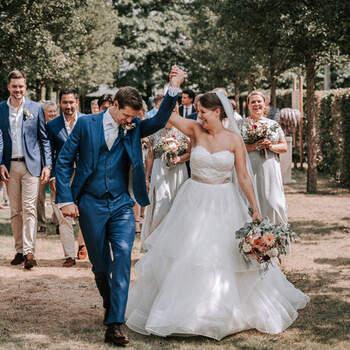 Colorful summer chique bruiloft van Thijs en Bibi   Foto: My Eye Photography