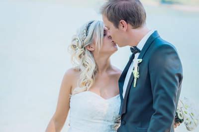 Sophie et Didier : leur joli mariage en Suisse au bord d'un lac magnifique !