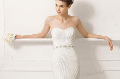 Vestidos de novia de corte sirena 2015: ¡saca tu lado más sexy!