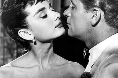 El vestido de novia de Audrey Hepburn en 'Sabrina'. Foto: Paramount Pictures