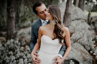 Andrea y Martín: ¡Una boda romántica, mágica y muy especial!