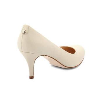 Sapato de noiva branco. Jennie Mariage.