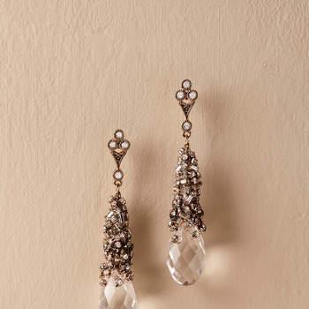 Chiara Crystal Earrings. Credits: Bhldn