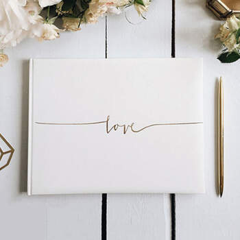 Libro de firmas amor- Compra en The Wedding Shop
