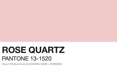 Pantone 2016 colour of the year: 'Rose Quartz' perfect for your wedding palette!