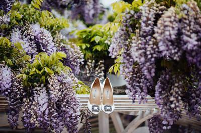 Обувь для невесты : без каблука или на каблуке?