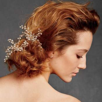 Foto: Dewed Vines Hairpin via BHLDN