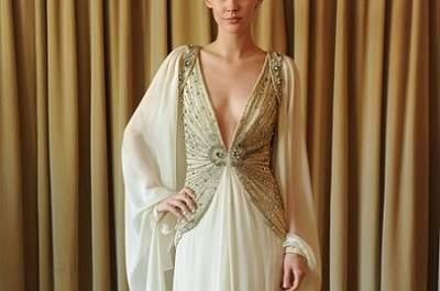 Vestido de noiva gold & bold, by Temperley 2013