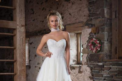 Die neuesten Trends der Brautkleider in einer Kollektion! Justin Alexanders Sweetheart für Herbst und Winter 2017