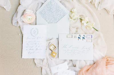 30 tipos de tarjeta de invitación de matrimonio llenas de mucha imaginación y buen gusto