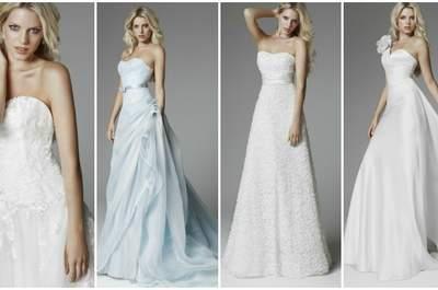 Elegante e originale la Collezione 2013 Blumarine Sposa. Foto www.blumarine.com