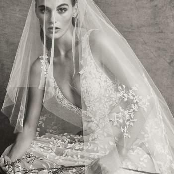 Christie with veil, Zuhair Murad