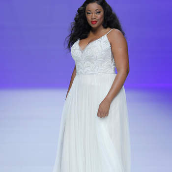 Maggie Sottero. Créditos: Barcelona Bridal Fashion Week