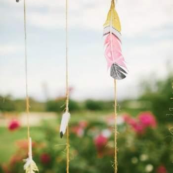 Foto: Southwestern Inspired Wedding Wedding photographed by Vis photography at Desert Ridge Estate
