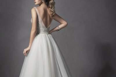 Maggie Sottero 2015: Vestidos de novia súper sofisticados para lucir en tu gran día