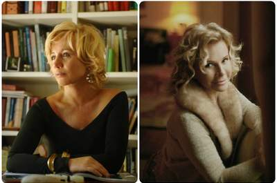 A sinistra: ritratto di Alberta Ferretti via cavalieridellavoro.it - A destra: ritratto di Anna Molinari via blumarine.com