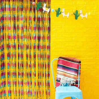 Cortina mexicana para photocall- Compra en The Wedding Shop