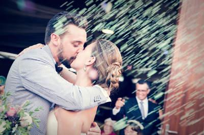 ¡Recién casados! 15 imágenes emocionantes que no puedes perderte