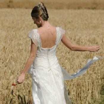 Robe de mariée Lison, vue de dos - Crédit photo: Catherine Varnier