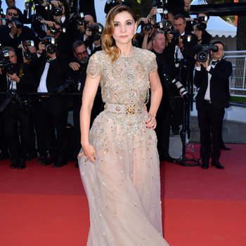 Clotilde Courau vestida po Elie Saab. Créditos: Cordon Press