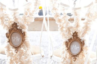 Las sillas de boda con más estilo