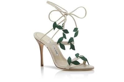 Zapatos para novia Manolo Blahnik 2018: ¡El mundo a tus pies!