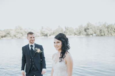 Die wundervolle Hochzeit von Annette und Marco in Wallbach - ganz persönlich und herzlich!